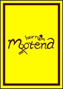 motena様黄色看板